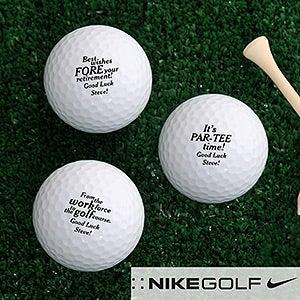 Personalized Retirement Golf Ball Set - 17323