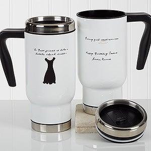 Personalized Commuter Travel Mug - A Best Friend - 17351