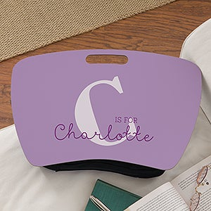 Personalized Initial Lap Desk For Kids - Alphabet Fun - 17372