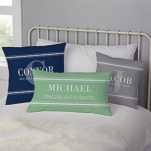 Personalized Throw Pillows For Him - My Name Means - 17518