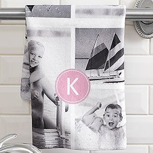 Photo Towels: Photo Collage Personalized Hand Towel - 17530