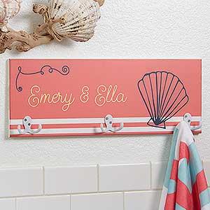 Personalized Towel Racks - Nautical Designs - 17627