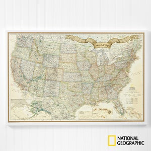 buy personalized national geographic world travel map and us travel map with 100 pins to chart your travels free personalization fast shipping