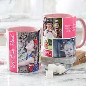 Photo Collage Mugs - Family Love - 17665