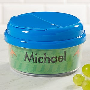 Customized Snack Cups With Lids for Boys 4 Designs Baby Gifts