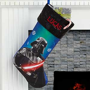 Star Wars Darth Vader Stocking Personalized - Clearance