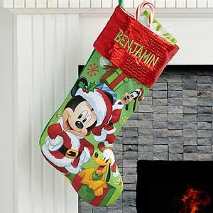 Personalized Disney Stockings Mickey & Minnie - 17689