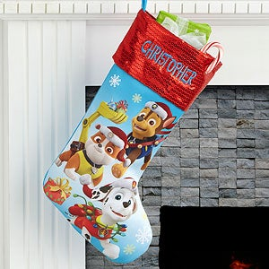 personalized paw patrol christmas stockings 17690