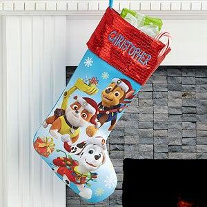 Personalized PAW Patrol Christmas Stockings - 17690