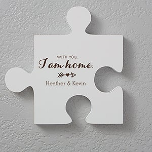 Puzzle Piece Wall Decor personalized photo wall puzzle piece