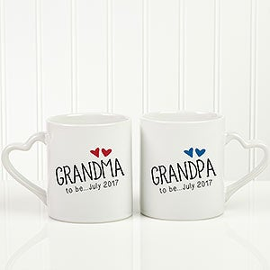 New Grandparents Personalized Coffee Mugs - 17713