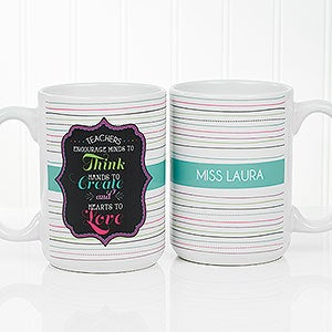 Personalized Coffee Mugs For Teachers - Teacher Quotes - 17717
