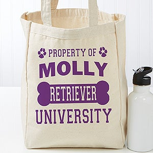 Personalized Dog Tote Bag - Property Of - 17724