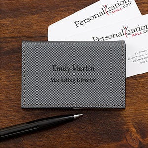 Personalized Credit Card Case - Signature Style - 17751
