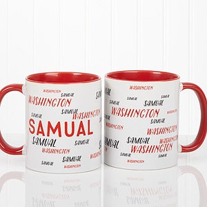 Personalized Name Coffee Mug - Hello! My Name Is - 17754