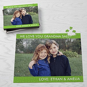 Personalized Jumbo Photo Puzzle - Picture Perfect - 17764
