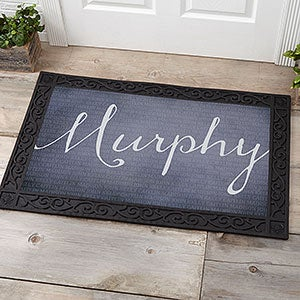 Personalized Family Doormats - Together Forever - 17791