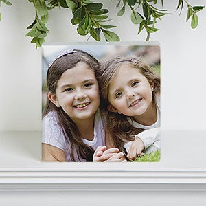 Personalized Photo Shelf Blocks - 17797