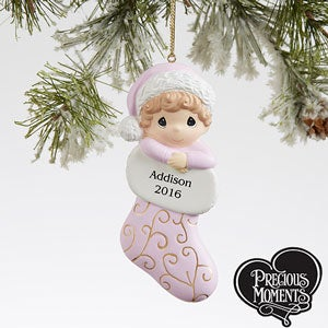 Personalized Precious Moments Baby Ornaments - 17819