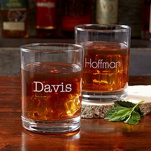 Personalized Old Fashioned Glasses - Classic - 17834