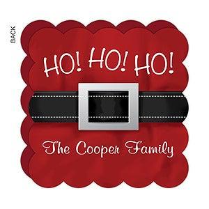 Personalized Santa Christmas Cards - Ho! Ho! Ho! - 17839