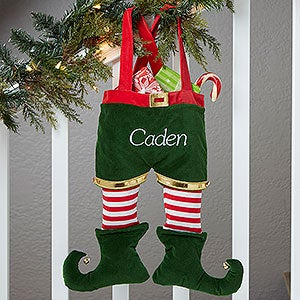 Personalized Elf Christmas Stockings - 17888
