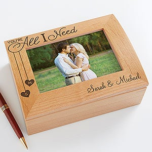 Personalized Photo Box - You're All I Need - 17900