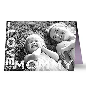 Personalized Photo Card - Loving Her - 17931