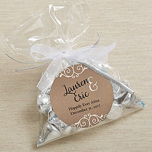 Personalized Rustic Chic Wedding Favors