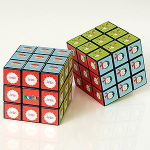 Personalized Rubik's Cube - Christmas Characters - 17937
