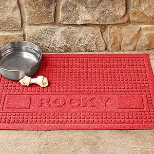 AquaShield Personalized Pet Mat - Squares - 18009D