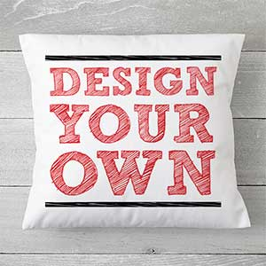 "Custom Throw Pillows 14"" - Design Your Own - 18015"