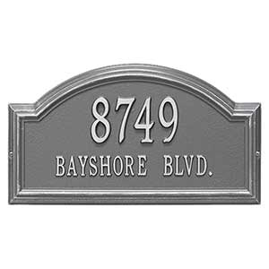 Personalized House Address Plaque – Arch Design - 18037D