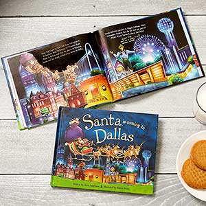 Personalized Storybook - Santa is Coming to My Town - 18045D