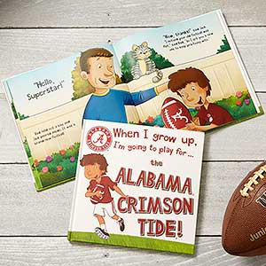 Personalized Storybook - College Football - 18047D