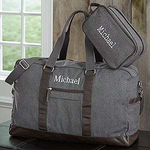 Personalized Travel Bags For Men - Weekender Duffel & Travel Bags - 18054