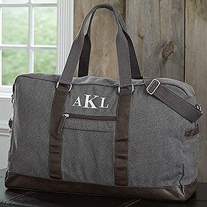 Personalized Travel Bags For Men - Weekender Duffel & Travel Bags - 18054