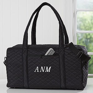 Personalized Black Duffel Bags For Women - 18064