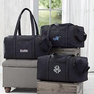 Personalized Black Duffel Bags For Women - 18064