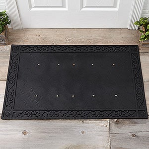 Recycled Rubber Doormat Tray for 20x35 Doormats  - 18085