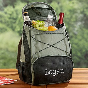 Personalized Backpack Coolers - Embroidered Monogram or Name - 18091
