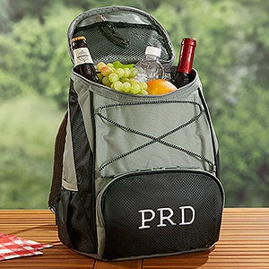 buy backpack coolers embroidered with either a monogram or name free see more outdoor items at - Backpack Coolers