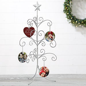Silver Tree Christmas Ornament Stand - 18126