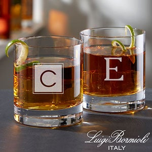 Personalized Old Fashioned Whiskey Glasses - 18156