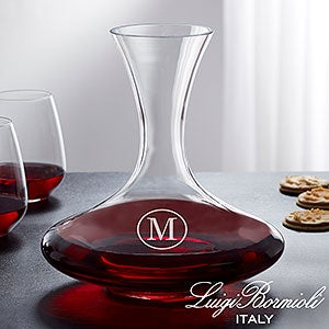 Engraved Wine Decanter - Captain's Decanter - 18159
