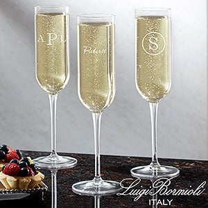 personalized champagne flute name for the home