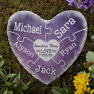 Personalized Garden Stones - Together We Make A Family  - 18196