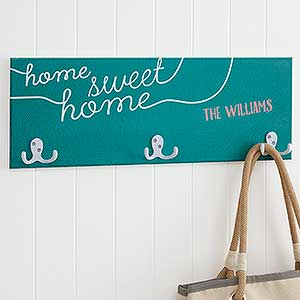 Personalized Coat Rack - Home Greetings - 18221