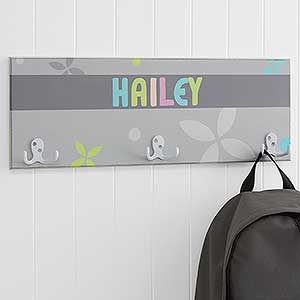 Personalized Coat Rack for Girls - 18225