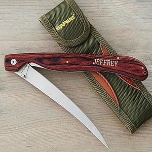 Personalized Fillet Knife - Sarge Knife - 18330